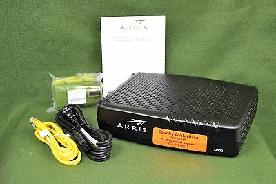 Arris TM822G Touchstone Docsis 3.0 Telephony EMTA Cable Modem
