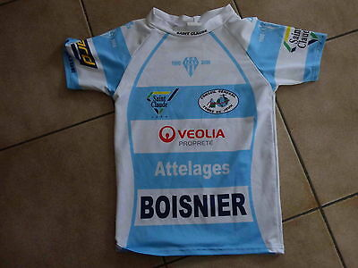 maillot rugby saint claude jura taille xxs ( 5 ans )
