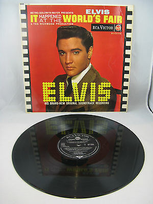 "Elvis Presley - ""it Happened At The World's Fair""  Uk Living Stereo Silver Spot"