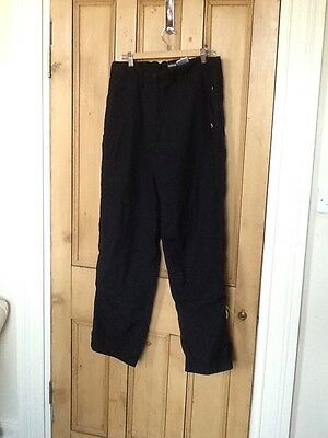 Women's Craghoppers Black Combat Cargo Hiking Trousers  Size 16 R