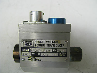 GSE Socket Wrench Torque Transducer 100 ft lbs - GSE21