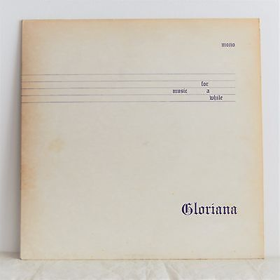GLORIANA Music For A While UK PRIVATE 70s Prog Folk Jazz MAGNET WICKER MAN