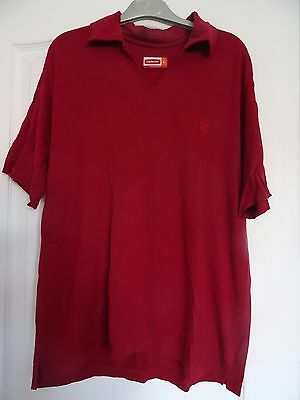 Polo/T-shirt Oxbow rouge Taille L