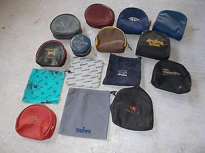 vintage fishing reel tackle - reel bags and pouches