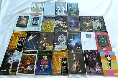 Playbill New York City Ballet, Chicago Joffrey, Eifman, American Ballet Theatre