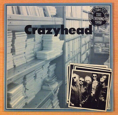 "CRAZYHEAD ""Radio 1 Sessions The Evening Show"" - Vinyl Ep 12"" - SFNT 018 -1989 UK"
