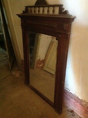 French vintage large mirror