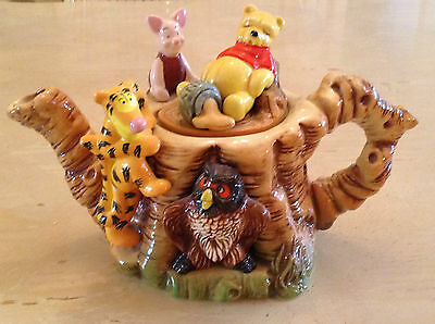 Cardew Collectable Novelty Teapot Disney,winnie Pooh,owl,piglet,lovely Condition