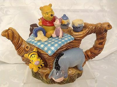 Cardew Collectable Novelty Teapot Disney,winnie Pooh,owl,piglet,roo,grt Conditio