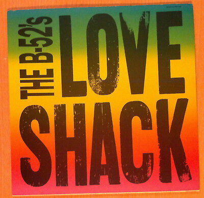 "THE B-52's ‎"" Love Shack ""  - Vinyl maxi  12"" - Reprise Re. 9 21318-0 - 1989 US"