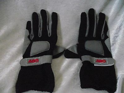Pair Of Used Aws Go-Kart Karting Racing Gloves Size Mens Large