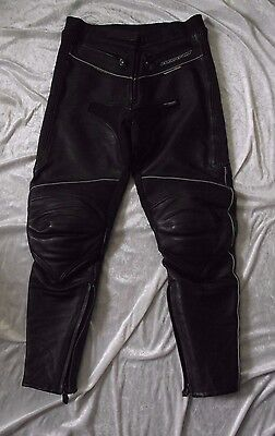 Dannisport Leather Trousers Size 16 Ladies