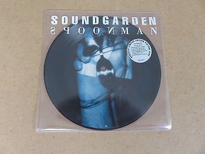 "SOUNDGARDEN Spoonman  A&M RARE 1994 UK ORIGINAL 7"" PICTURE DISC 5805387"