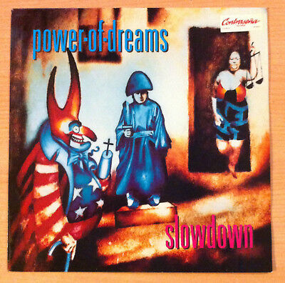 "POWER OF DREAMS  "" Slowdown "" - Vinyl maxi 12"" - Polydor ‎ 865 397  1 -  1992 UK"