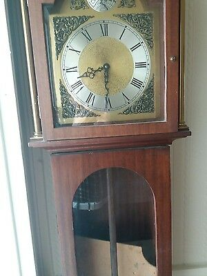 longcase grandfather clock