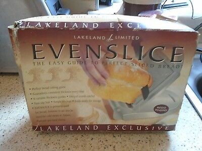 Lakeland Evenslice, Easy Guide To Perfect Sliced Bread