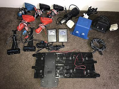 Job Lot of Scalextric Controllers, Power Supply's, Power Units & Power Bases