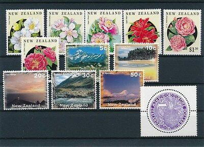 [90038] New Zealand good lot Very Fine MNH stamps