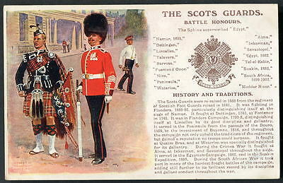 THE SCOTS GUARDS. History & Traditions No.34. (+3 Additional 1910 honours.) 1014