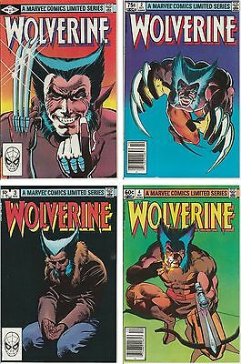 Wolverine 1982 Original Mini Series Issues 1-4 VF-NM