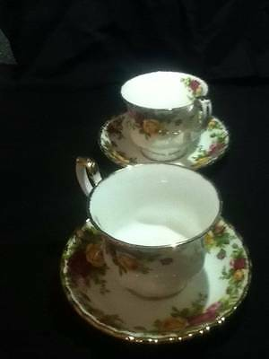 royal albert old country roses coffee tea cups mint