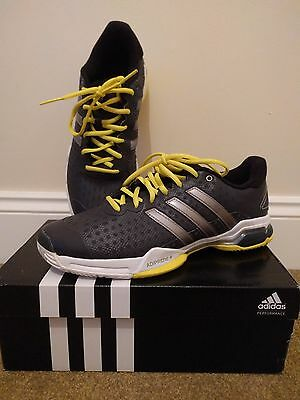 Men`s adidas barricade Team tennis shoes Trainers size 8