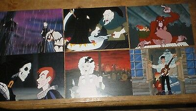 Terry Pratchett Discworld 6 promo postcards from Soul Music VHS promotional