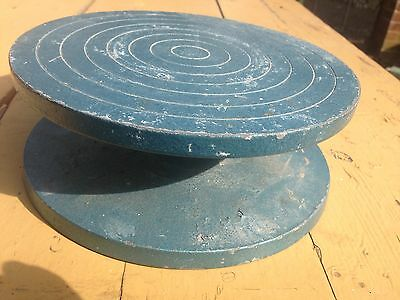 Metal Pottery Turntable / Sculpture Stand