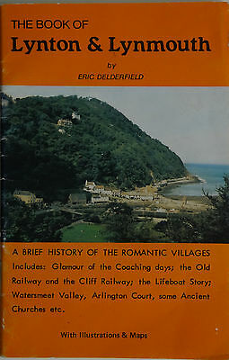 The book of Lynton and Lynmouth - Eric Delderfield 1981 illustrated booklet
