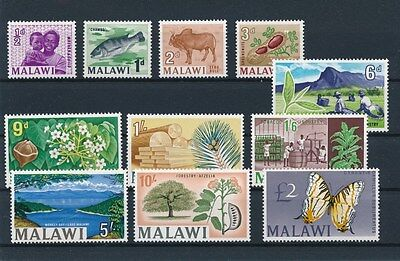 [91280] Malawi good lot Very Fine MNH stamps