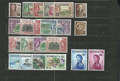 Dominica - Lot - Neufs / Mint (*) & Some (**)