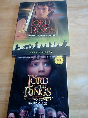 lord of the rings movie guides books
