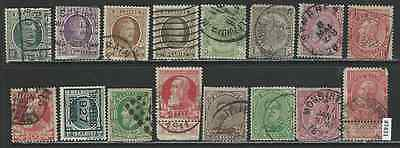 #7431 BELGIUM lot of Old Used Issues