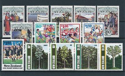 [91433] New Zealand good lot Very Fine MNH stamps
