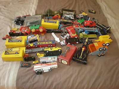 Job Lot Various Diecast Die Cast Cars And Vehicles