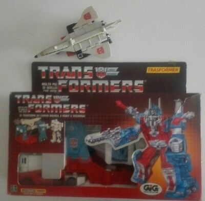 transformers g1 GIG convoy 1985 + radiant