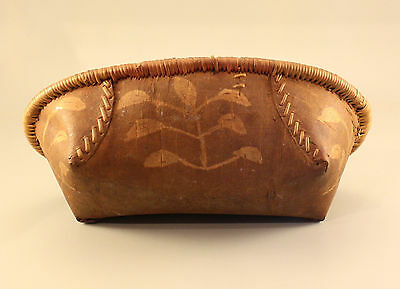 Antique Athabascan Birch Bark Basket