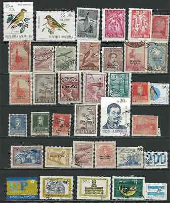 #7473 ARGENTINA Lot of Used & Mint Stamps