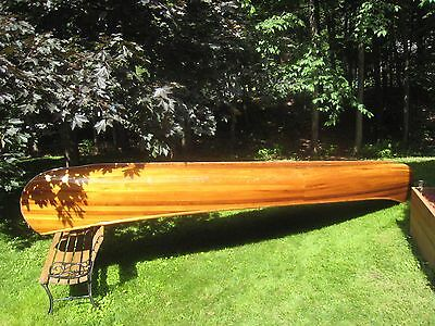 Cedar Stripped Canoe