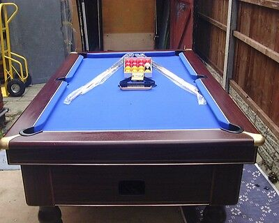 7ft by 4ft excel mayfair pool table in very good condition