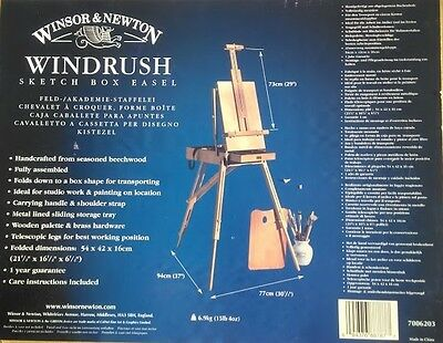 Winsor & Newton Sketch Box Easel - Windrush