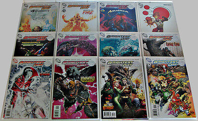 Brightest Day #0-24 Geoff Johns Peter Tomasi Complete Set