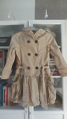 Manteau Trench Imperméable Fille CATIMINI Taille 8 ans