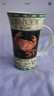 Zodiac Cancer Fine Stoneware Mug By Dunoon-Perfect, Unused Condition