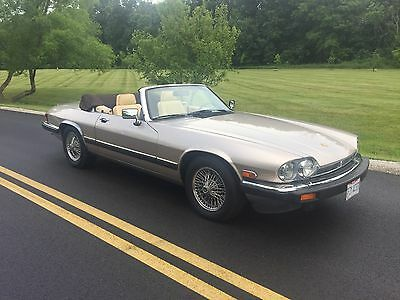 1991 Jaguar XJS FACTORY 1991 JAGUAR XJS CLASSIC COLLECTION CONVERTIBLE 17,000 MILES No Reserve!!!!
