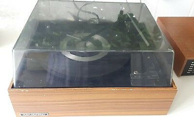 VINTAGE MARCONIPHONE 3 speed BSR RECORD PLAYER