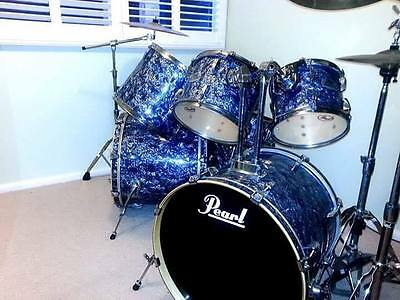 2005 Pearl EXR 7 Piece Drum Set