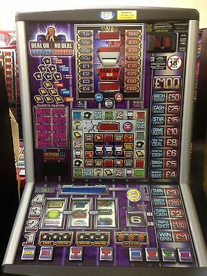 DEAL OR NO DEAL COPS N ROBBERS  £100 jackpot NEW  NOTE ACCEPTOR FITTED