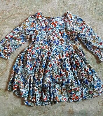 Girls next 18-24 months patterned dress
