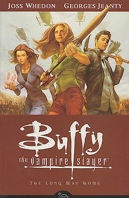 Buffy - Season 8- TPB #1 - The Long Way Home - Mint Condition - Dark Horse Comic